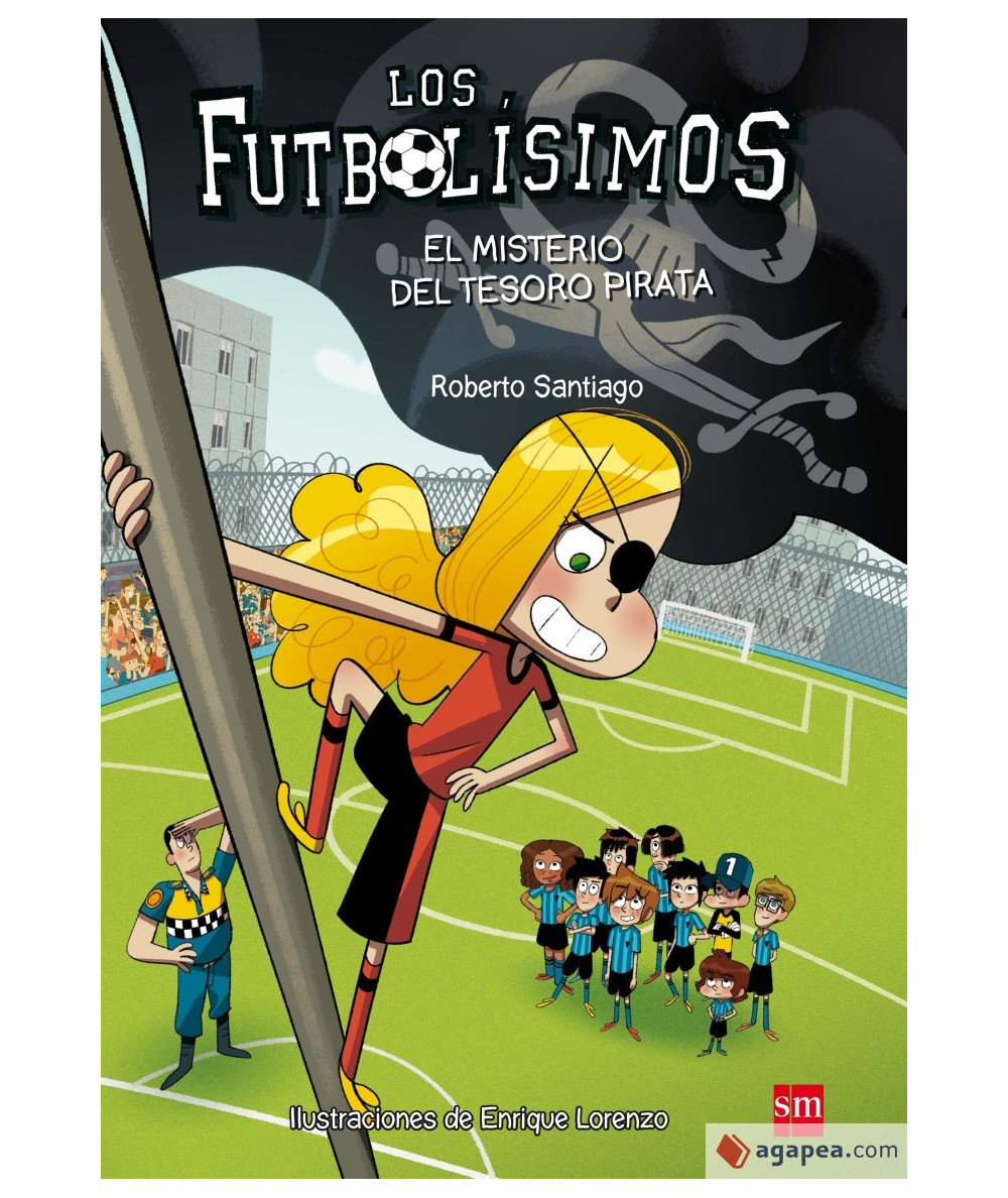 FUTBOLISIMOS 10 EL MISTERIO DEL TESORO PIRATA Infantil