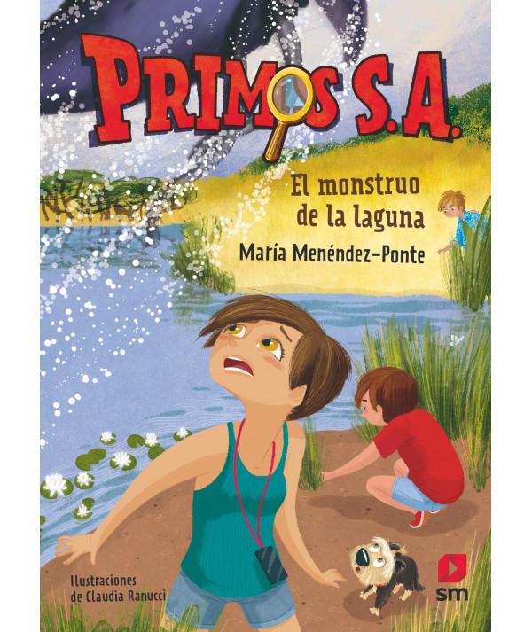 PRIMOS SA 5 EL MONSTRUO DE LA LAGUNA Infantil