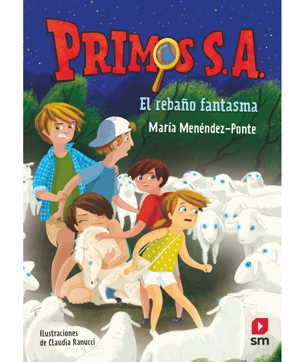 PRIMOS SA 4 EL REBAÑO FANTASMA Infantil