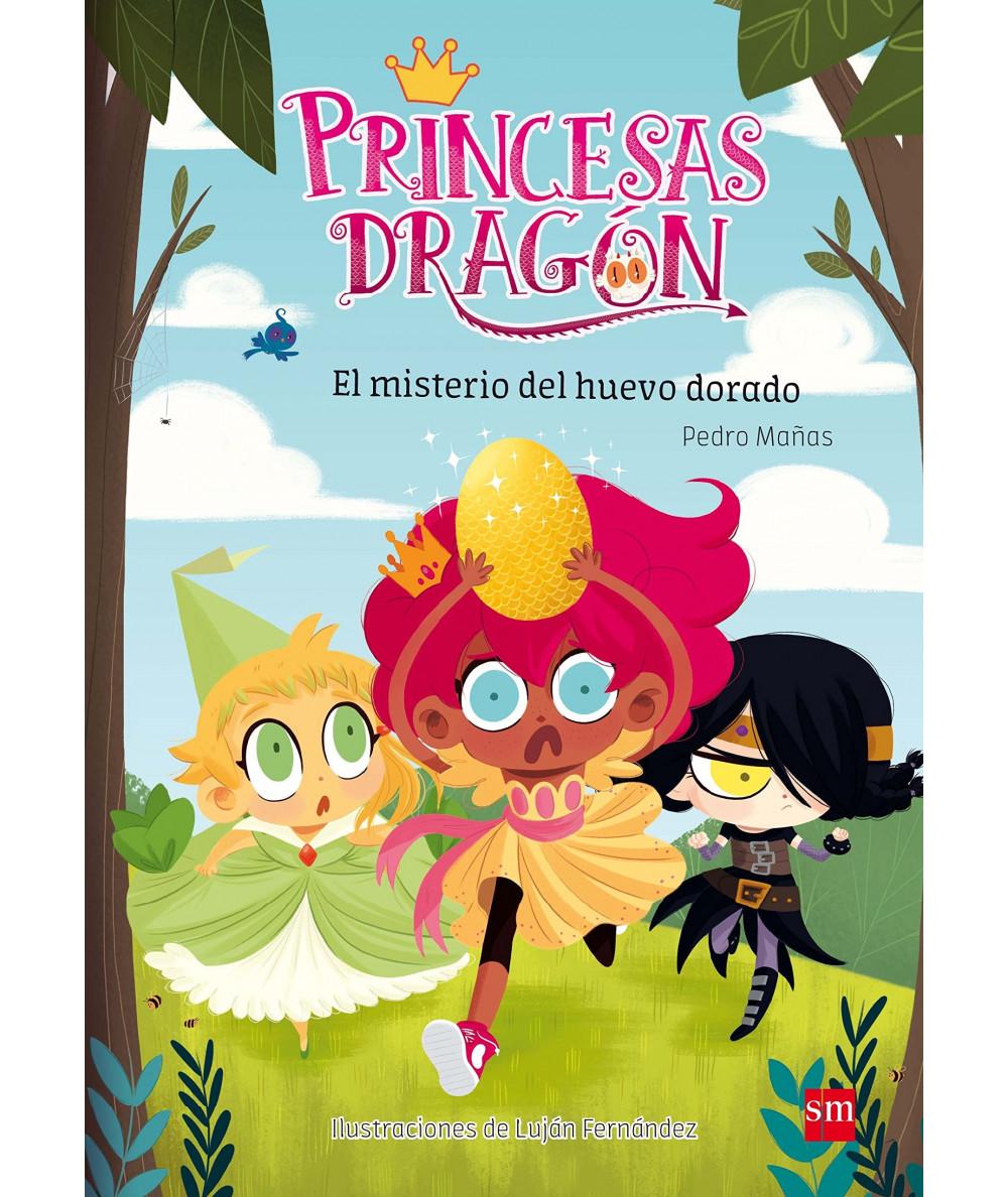 PRINCESAS DRAGON 1 EL MISTERIO DEL HUEVO DORADO Infantil