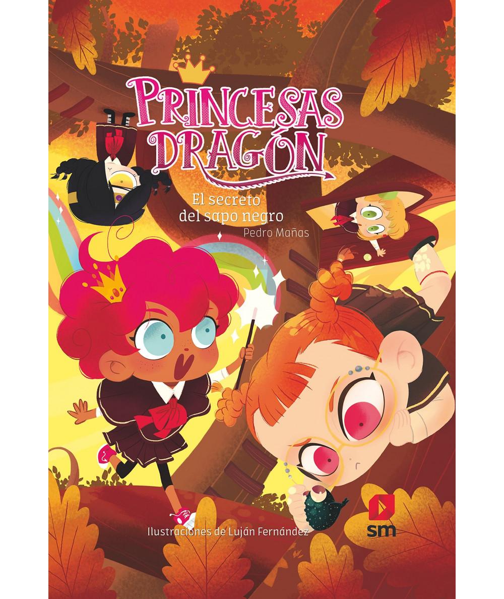 PRINCESAS DRAGON 7 EL SECRETO DEL SAPO NEGRO Infantil