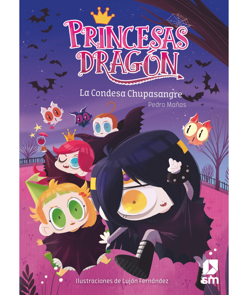 PRINCESAS DRAGON 9 LA CONDESA CHUPASANGRE Infantil
