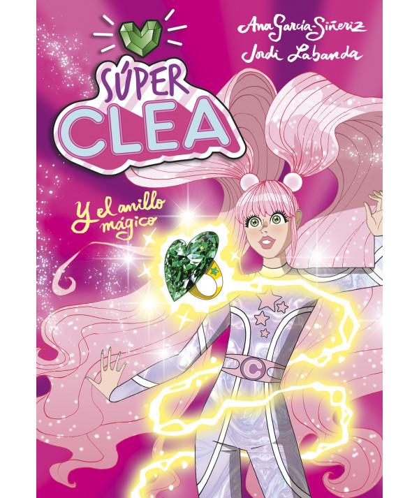 Súper Clea 1 y el anillo mágico Infantil