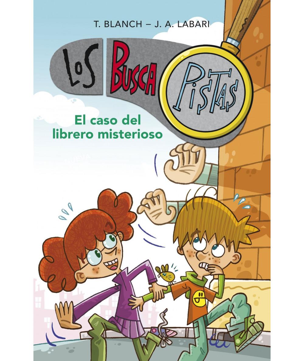 BUSCAPISTAS 2 EL CASO DEL LIBRERO MISTERIOSO Infantil