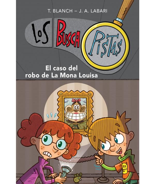BUSCAPISTAS 3 EL CASO DEL ROBO DE LA MONA LOUISA Infantil