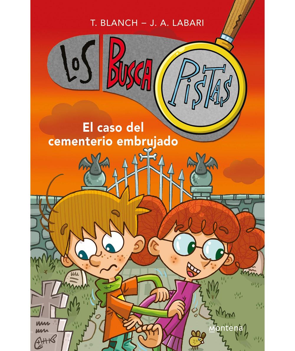 BUSCAPISTAS 4 EL CASO DEL CEMENTERIO EMBRUJADO Infantil