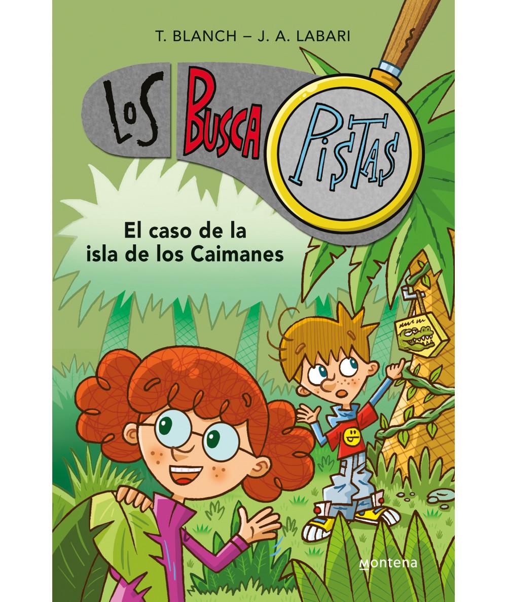 BUSCAPISTAS 5 EL CASO DE LA ISLA DE LOS CAIMANES Infantil