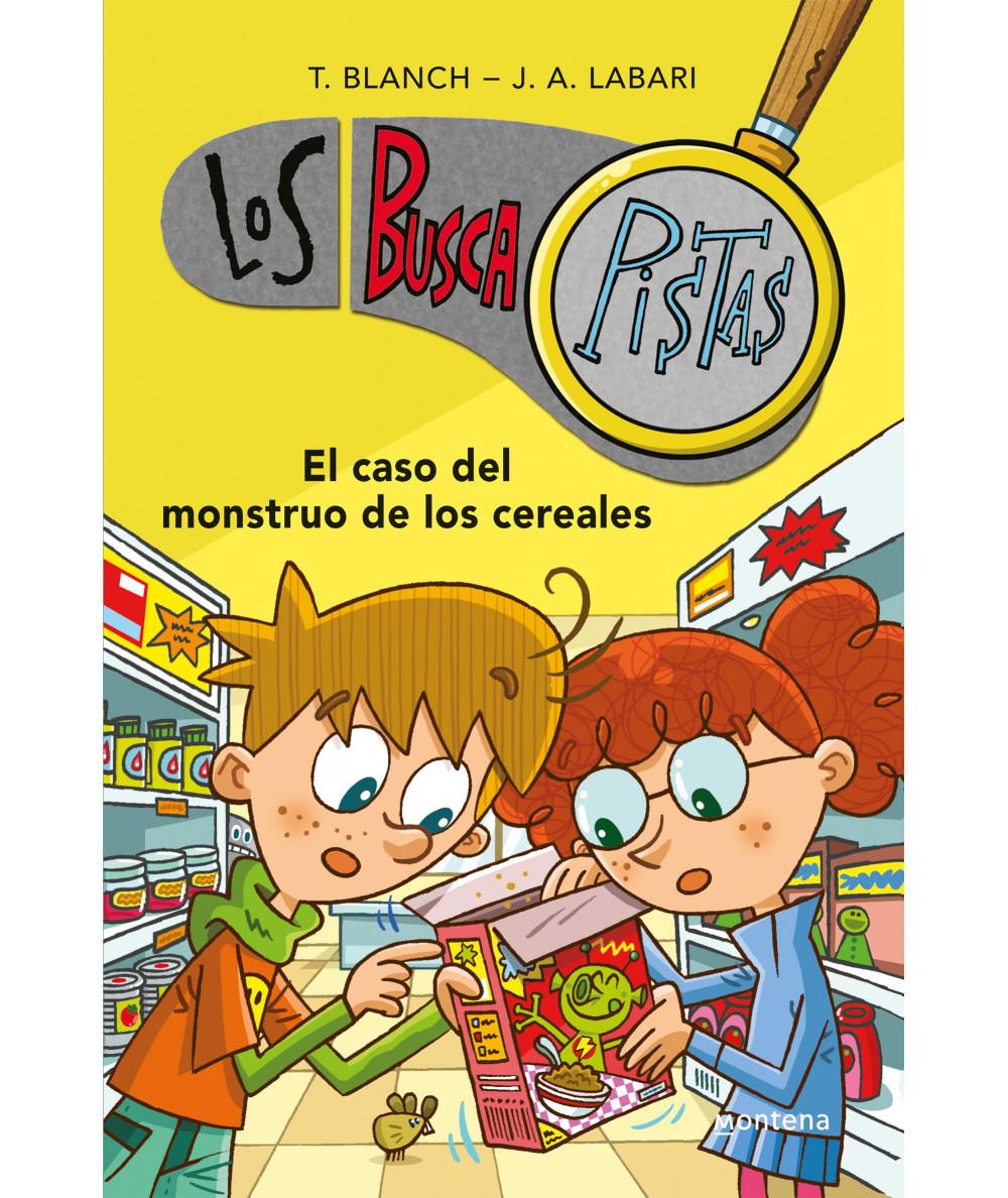 BUSCAPISTAS 6 EL CASO DEL MONSTRUO DE LOS CEREALES Infantil
