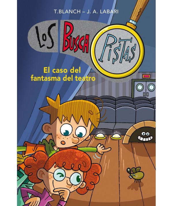 BUSCAPISTAS 8 EL CASO DEL FANTASMA DEL TEATRO Infantil