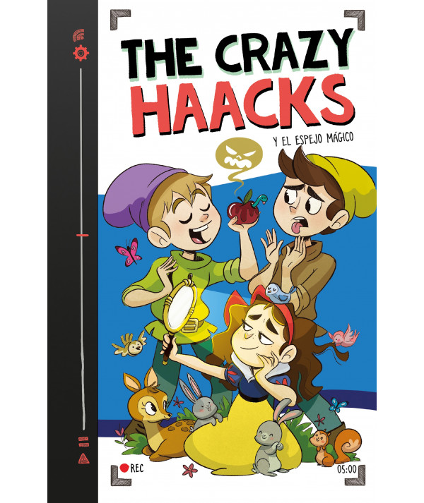 CRAZY HAACKS 5 Y EL ESPEJO MAGICO Infantil