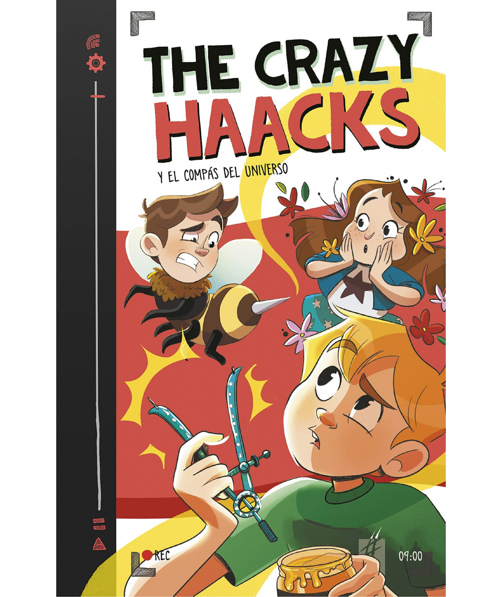 THE CRAZY HAACKS 9 Y EL COMPAS DEL UNIVERSO Infantil