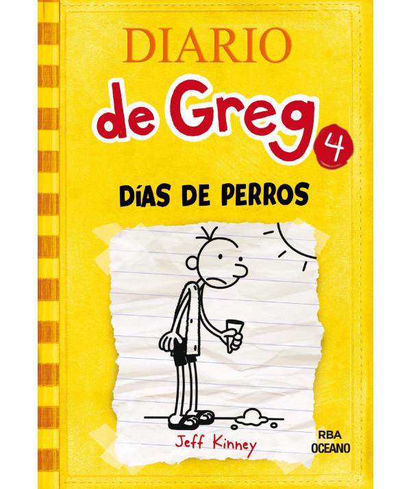 DIARIO DE GREG 4 DIAS DE PERROS Infantil