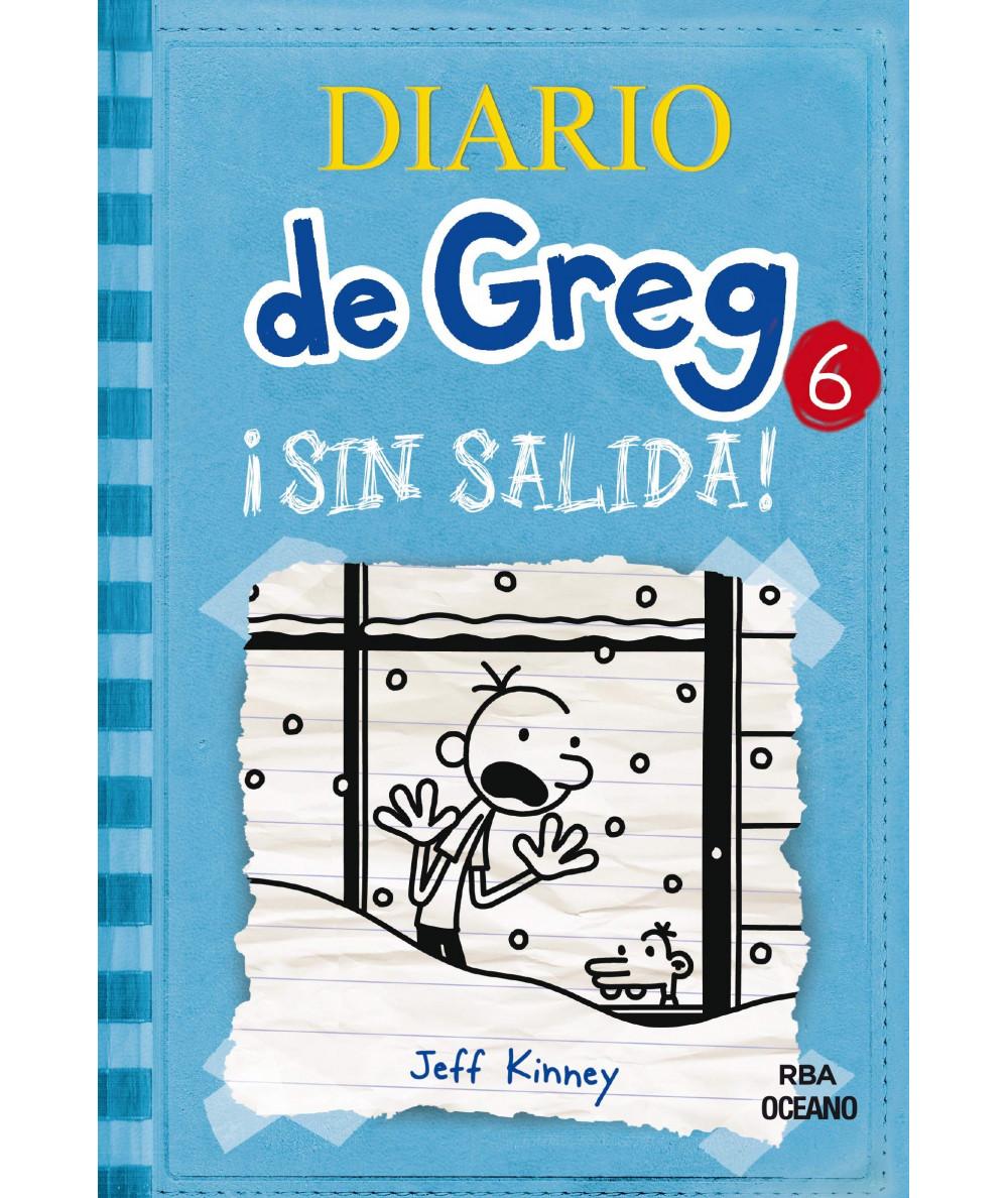 DIARIO DE GREG 6 ATRAPADOS POR LA NIEVE Infantil