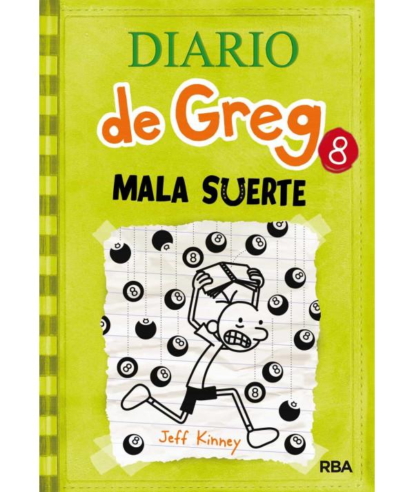 DIARIO DE GREG 8 MALA SUERTE Infantil