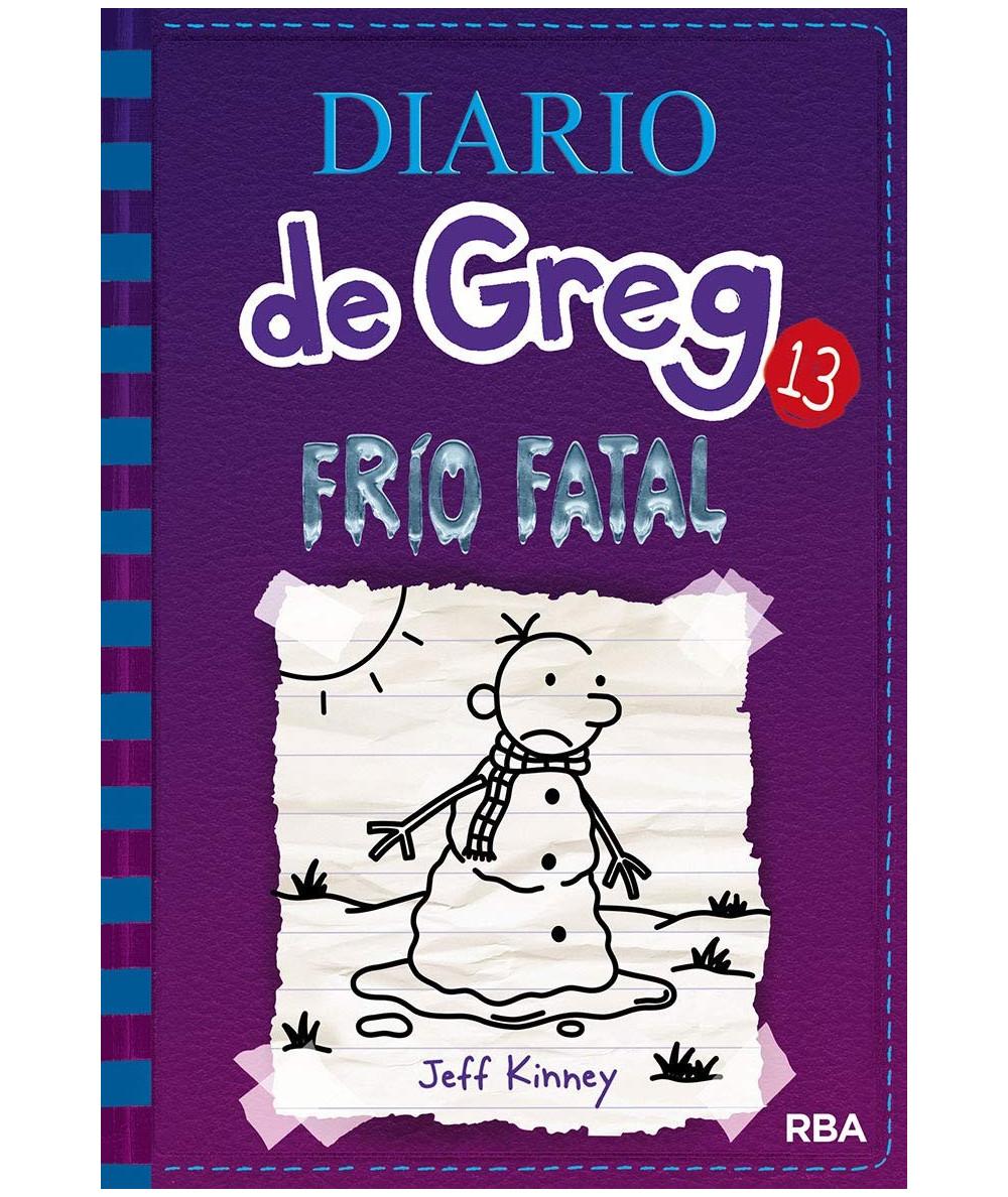 DIARIO DE GREG 13 FRIO FATAL Infantil