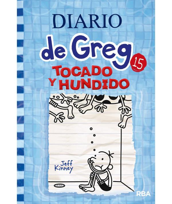 DIARIO DE GREG 15 TOCADO Y HUNDIDO Infantil