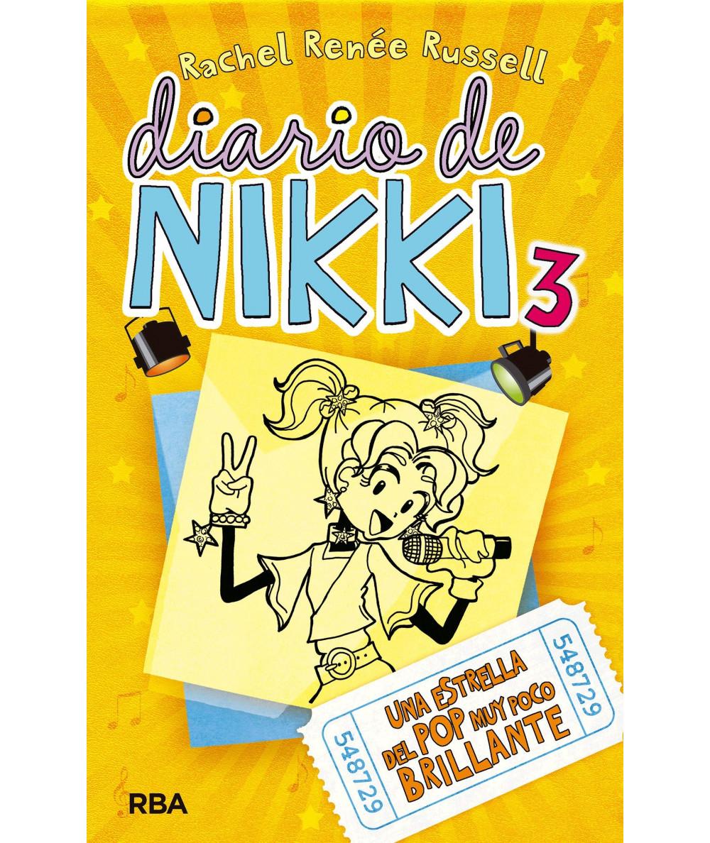 DIARIO DE NIKKI 3 UNA ESTRELLA DEL POP MUY POCO BRILLANTE Infantil