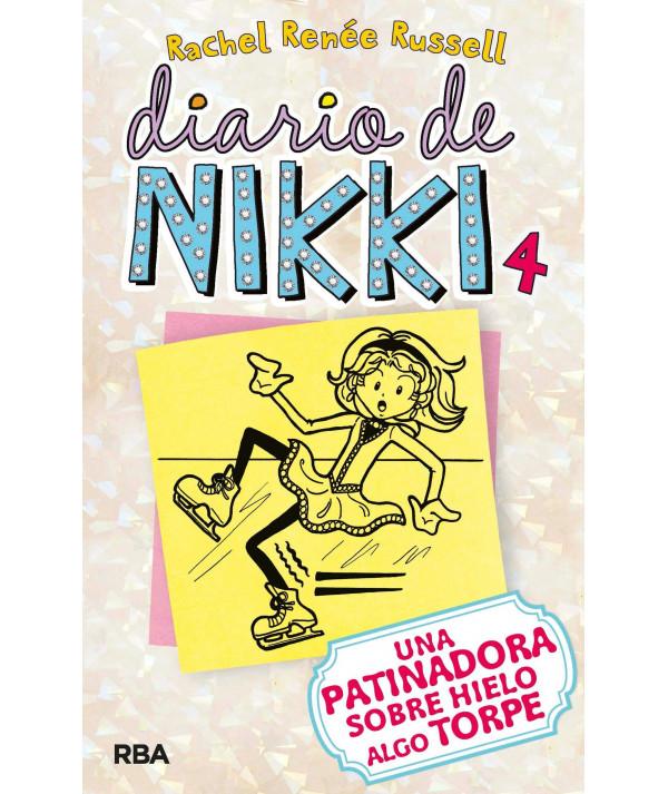 DIARIO DE NIKKI 4 UNA PATINADORA SOBRE HIELO ALGO TORPE Infantil