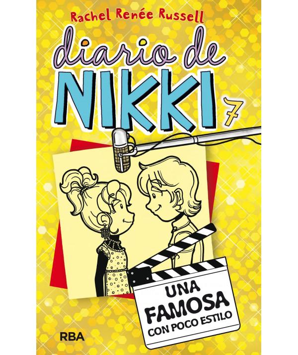DIARIO DE NIKKI 7 UNA FAMOSA CON POCO ESTILO Infantil