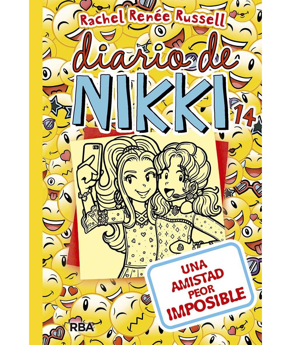 DIARIO DE NIKKI 14 UNA AMISTAD PEOR IMPOSIBLE Infantil