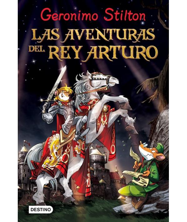 GERONIMO STILTON. LAS AVENTURAS DEL REY ARTURO Infantil