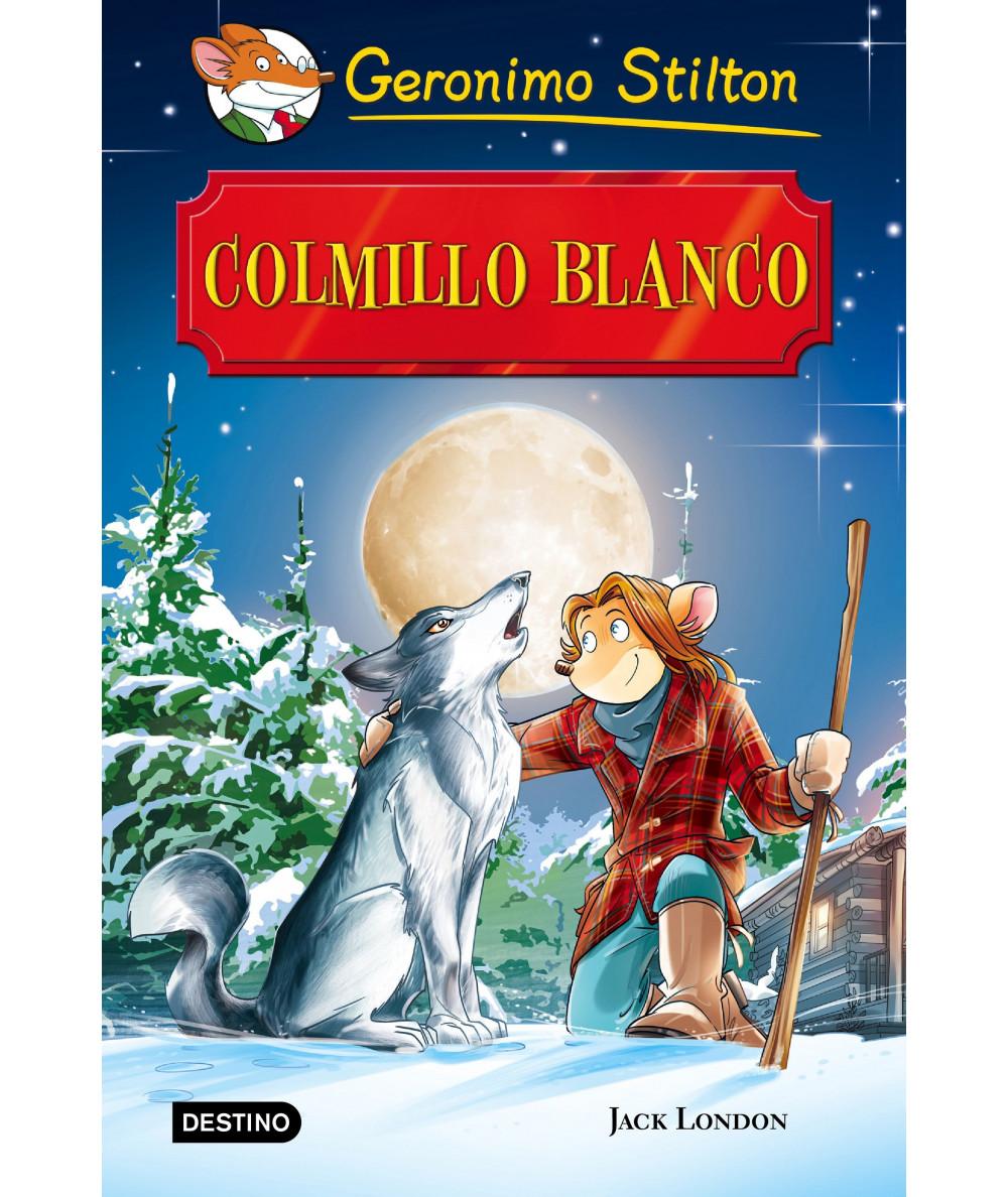 GERONIMO STILTON. COLMILLO BLANCO Infantil
