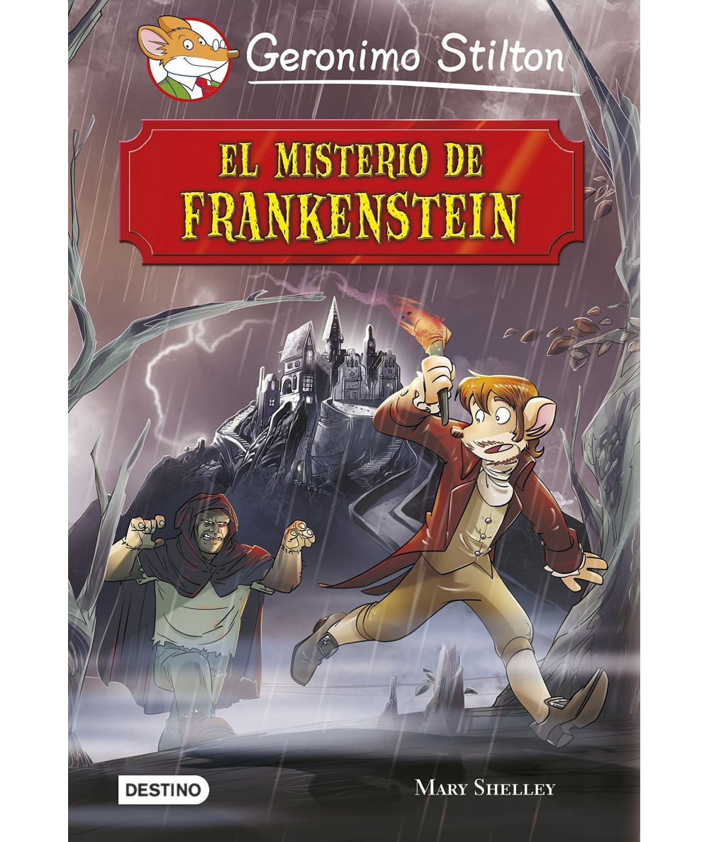 GERONIMO STILTON. EL MISTERIO DE FRANKENSTEIN Infantil