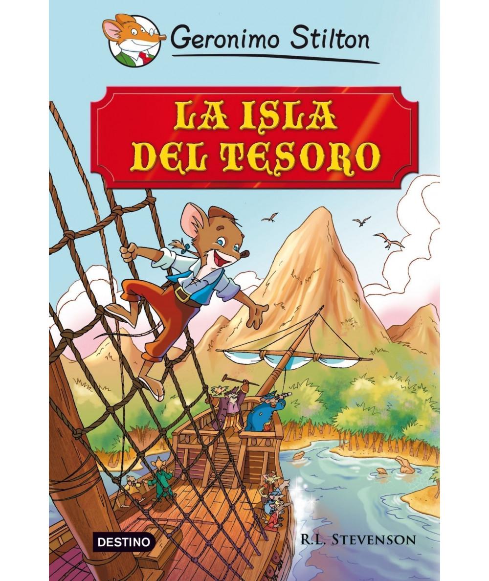 GERONIMO STILTON. LA ISLA DEL TESORO Infantil