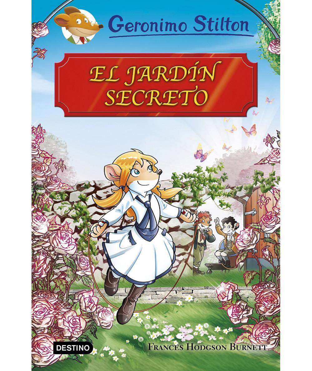 GERONIMO STILTON. EL JARDIN SECRETO Infantil