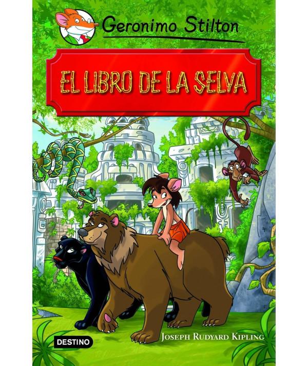 GERONIMO STILTON. EL LIBRO DE LA SELVA Infantil