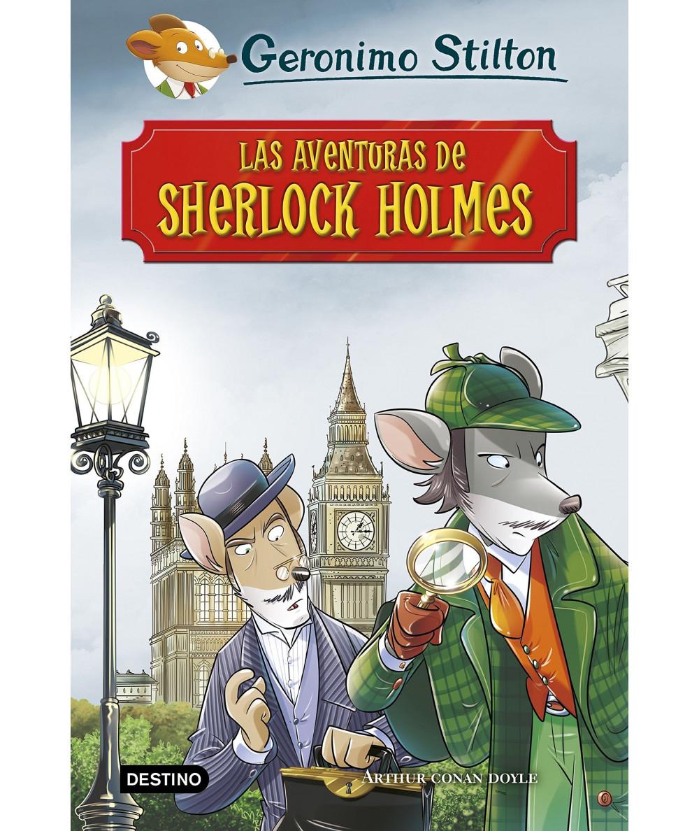 GERONIMO STILTON. LAS AVENTURAS DE SHERLOCK HOLMES Infantil