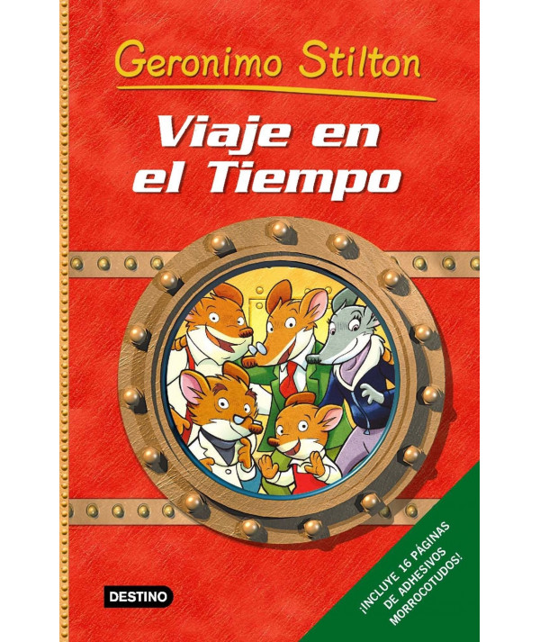 GERONIMO STILTON VIAJE EN EL TIEMPO Infantil
