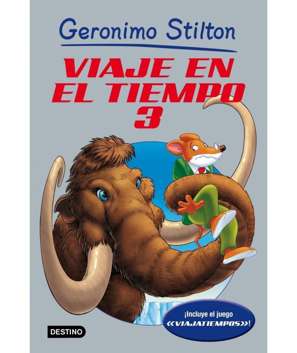 GERONIMO STILTON VIAJE EN EL TIEMPO 3 Infantil
