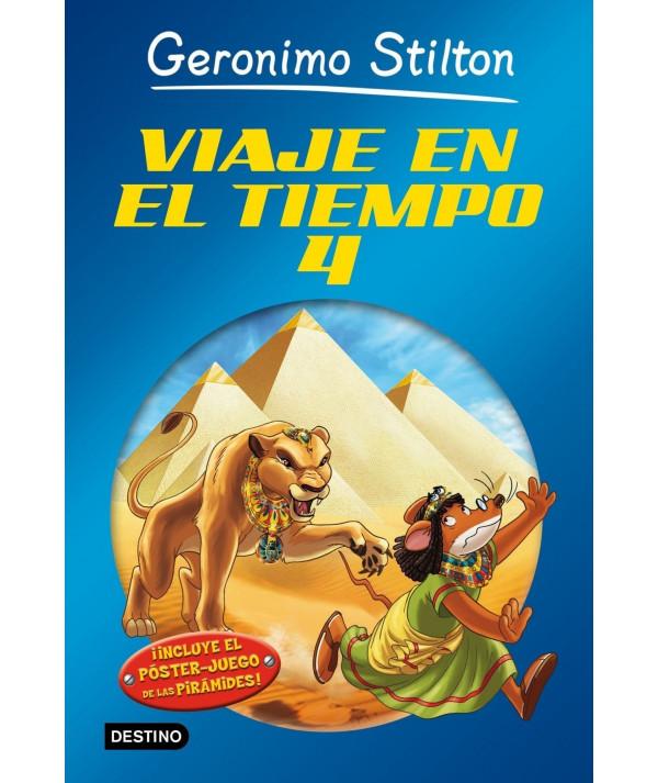GERONIMO STILTON VIAJE EN EL TIEMPO 4 Infantil