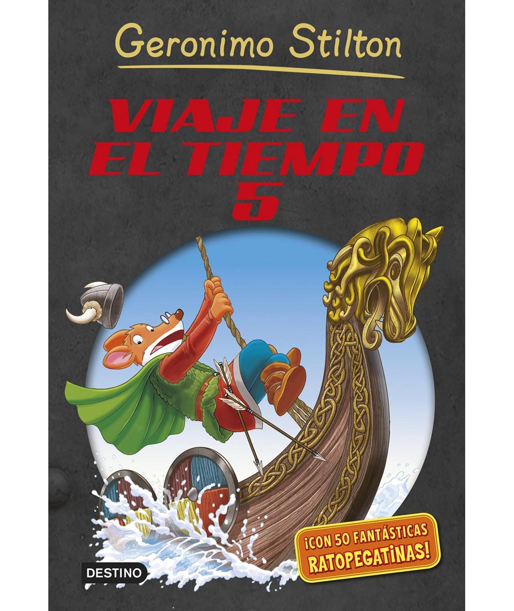 GERONIMO STILTON VIAJE EN EL TIEMPO 5 Infantil