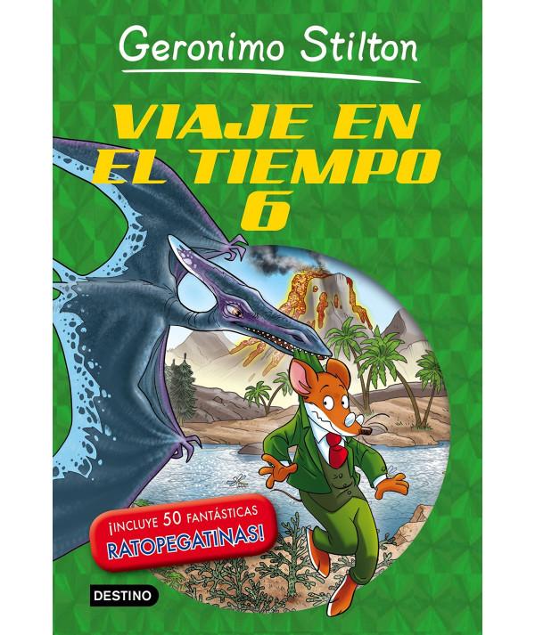 GERONIMO STILTON VIAJE EN EL TIEMPO 6 Infantil