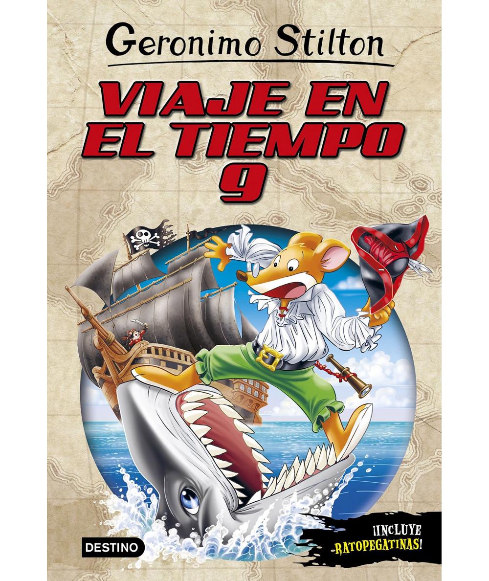GERONIMO STILTON VIAJE EN EL TIEMPO 9 Infantil
