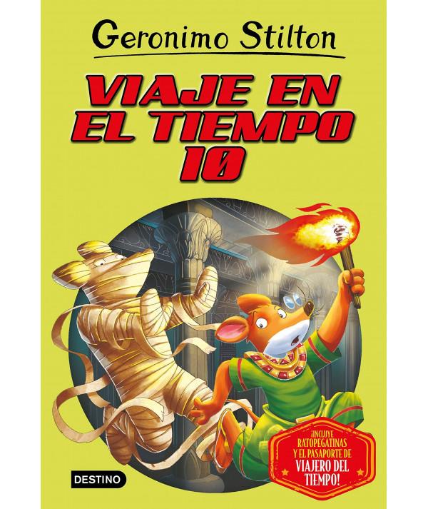 GERONIMO STILTON VIAJE EN EL TIEMPO 10 Infantil