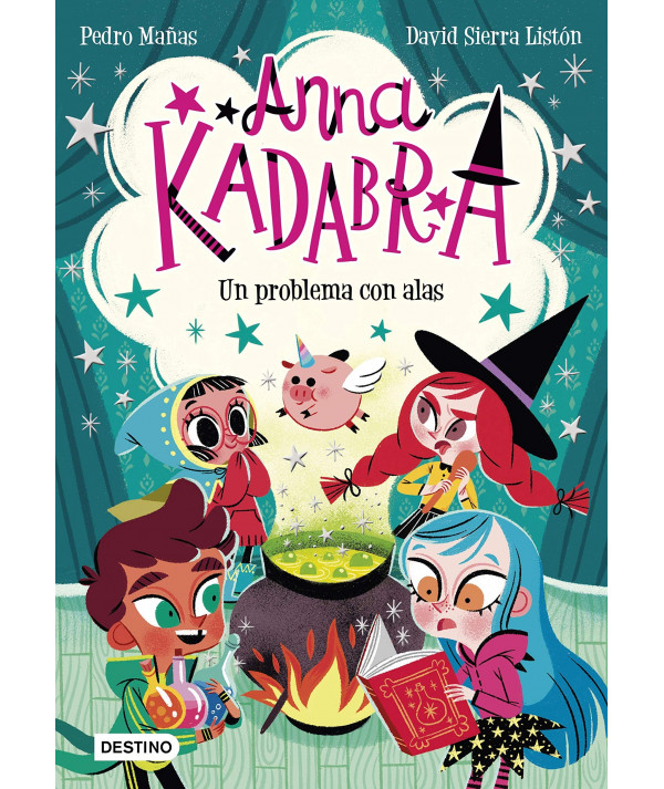 ANNA KADABRA 2 UN PROBLEMA CON ALAS Infantil