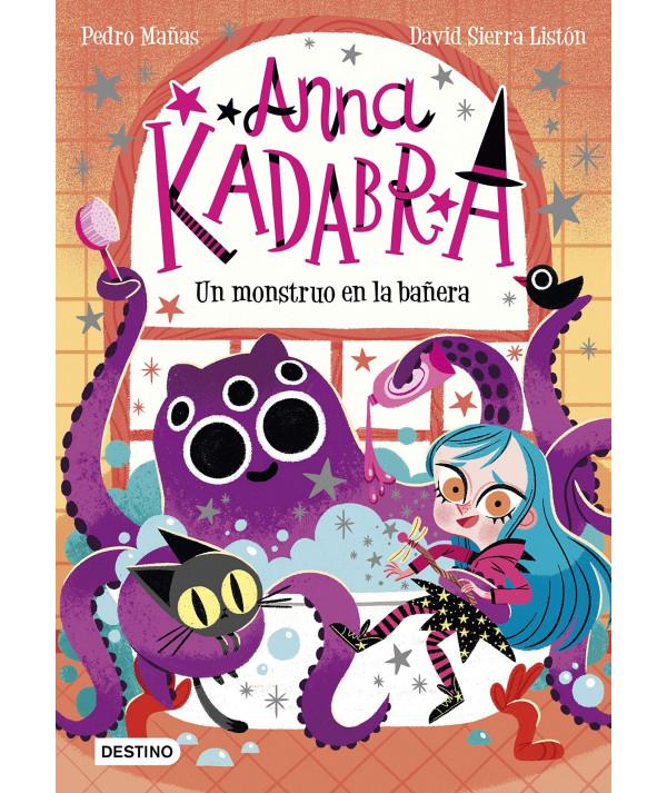 ANNA KADABRA 3 UN MONSTRUO EN LA BAÑERA Infantil