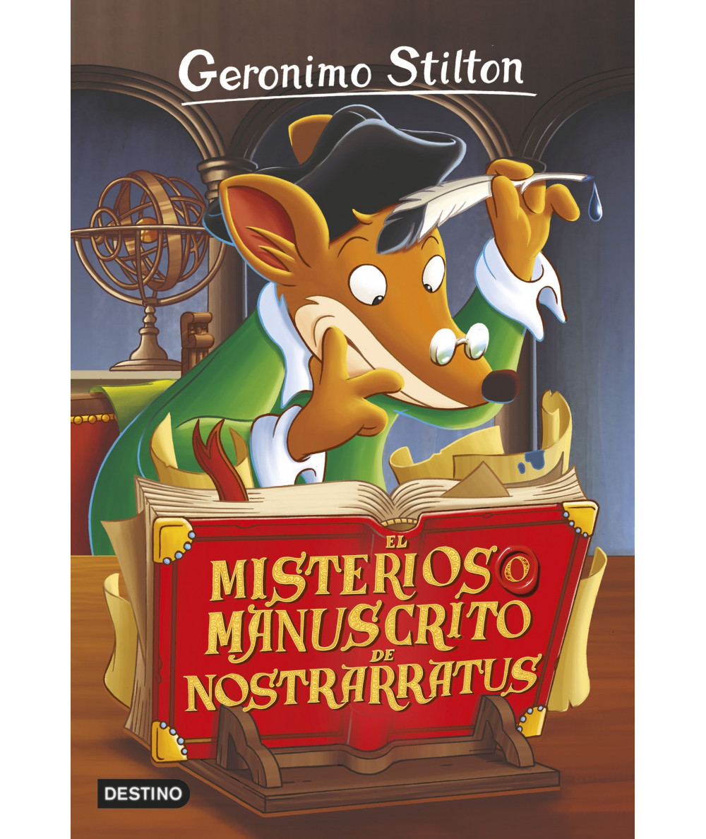 GERONIMO STILTON 3 EL MISTERIOSO MANUSCRITO DE NOSTRARRATUS Infantil