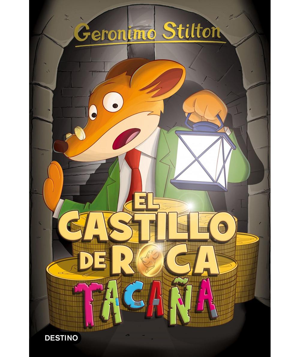GERONIMO STILTON 4 EL CASTILLO DE ROCA TACAÑA Infantil