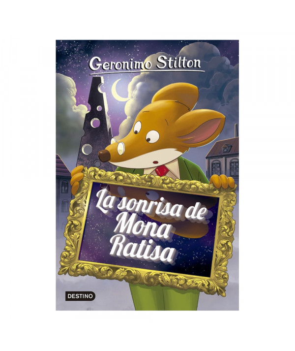 GERONIMO STILTON 7 LA SONRISA DE MONA RATISA Infantil