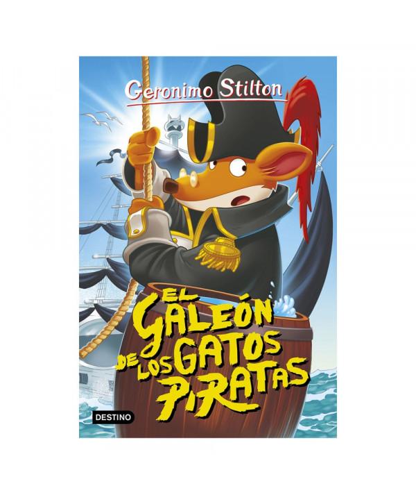 GERONIMO STILTON 8 EL GALEON DE LOS GATOS PIRATAS Infantil