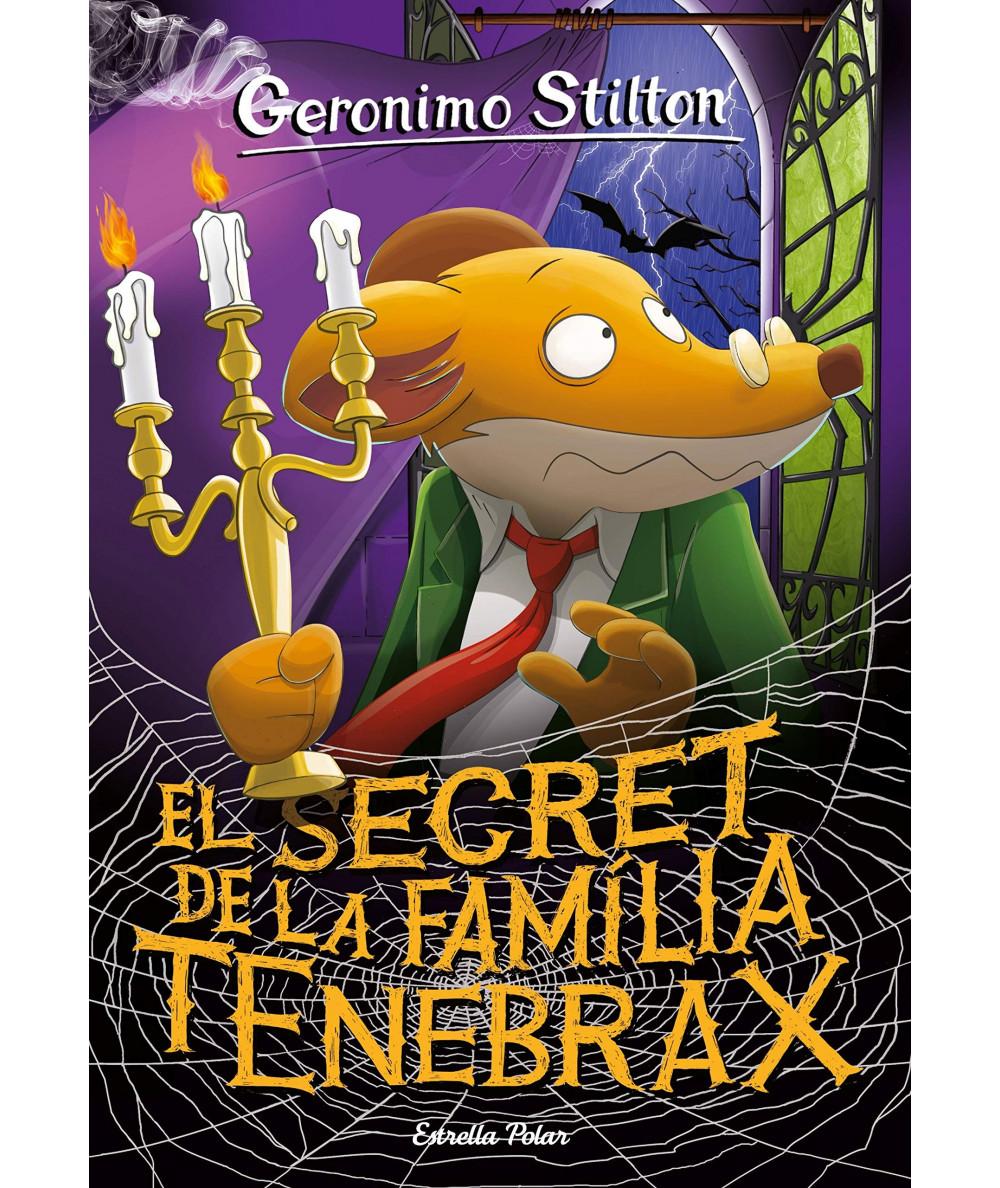 GERONIMO STILTON 18 SECRETO DE LA FAMILIA TENEBRAX Infantil