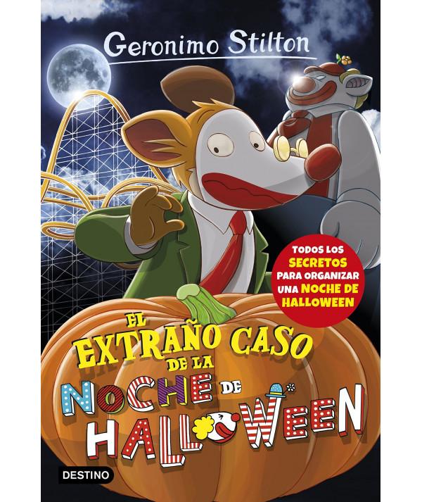 GERONIMO STILTON 29 EL EXTRAÑO CASO NOCHE DE HALLOWEEN Infantil