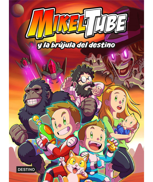 MIKELTUBE 1 MIKELTUBE Y LA BRUJULA DEL DESTINO Infantil