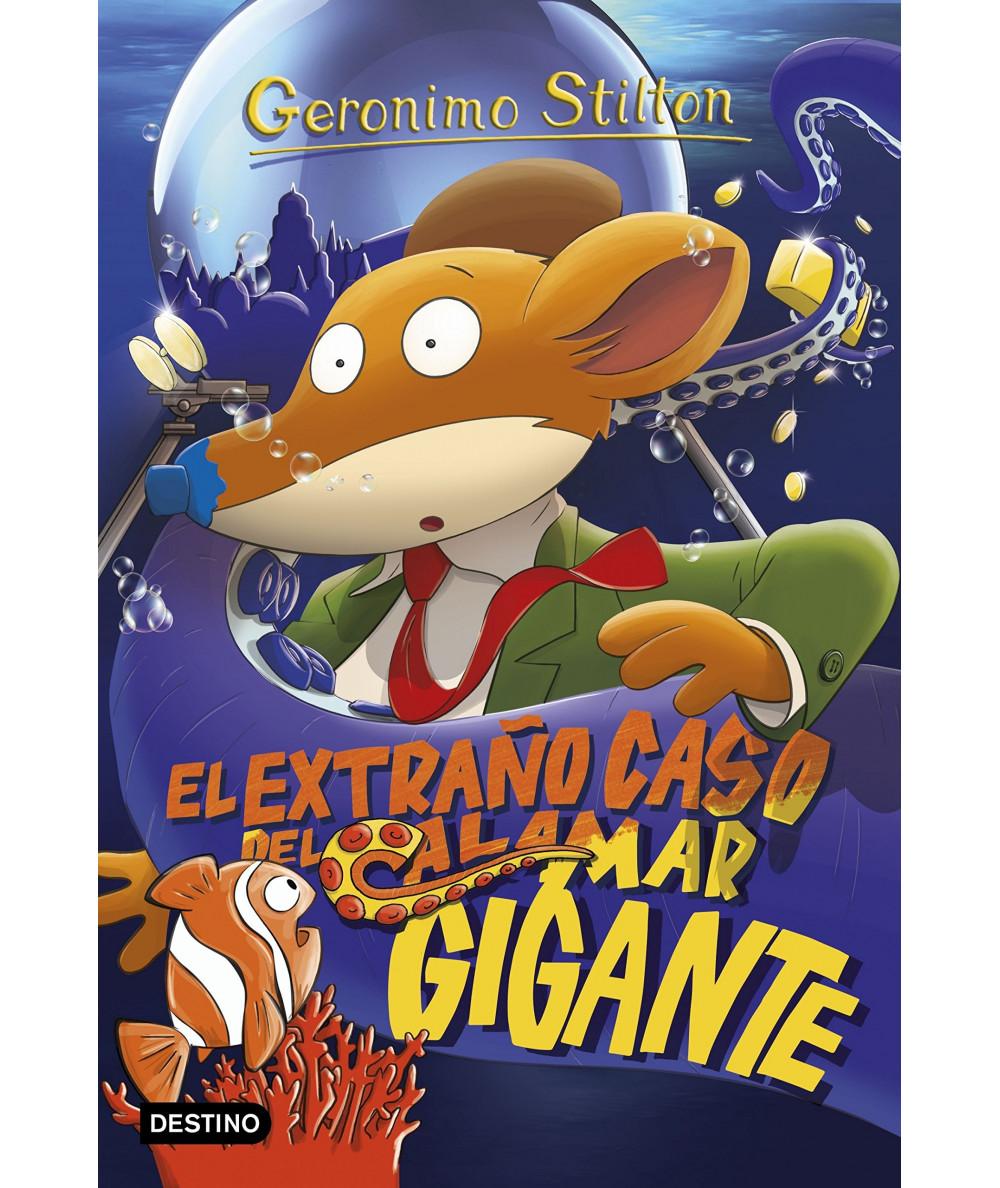 GERONIMO STILTON 31 EL EXTRAÑO CASO DEL CALAMAR GIGANTE Infantil