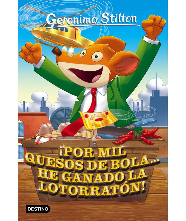 GERONIMO STILTON 32 POR MIL QUESOS BOLA HE GANADO LOTORRATON Infantil