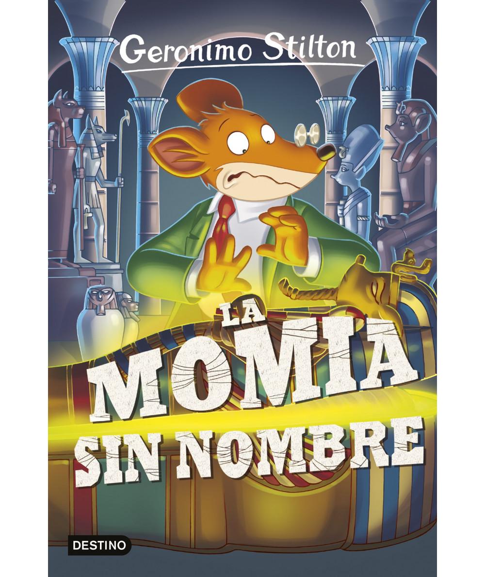 GERONIMO STILTON 41 LA MOMIA SIN NOMBRE Infantil
